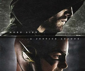arrow, the flash, and flash image