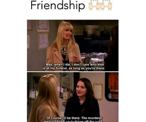 friendship, funny, and 2 broke girls image