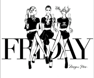 friday, fashion, and girls image