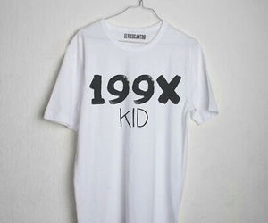 kids, 90s, and shirt image