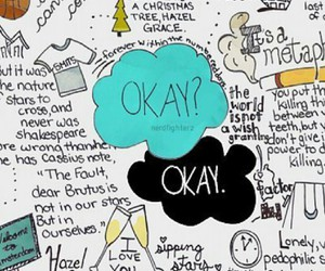 john green, quotes, and the fault in our stars image