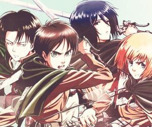 shingeki no kyojin, anime, and levi image