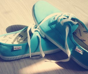 beautiful, blue, and shoes image