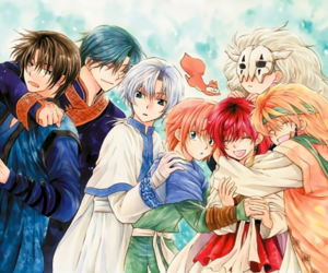 akatsuki no yona and anime image