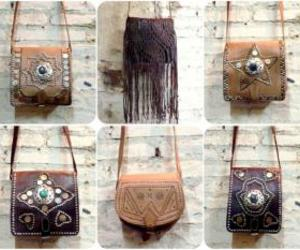 bag, fringe, and boho image