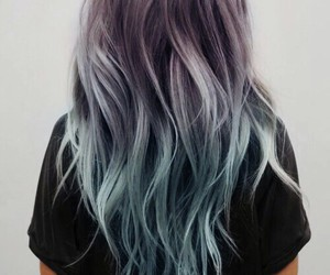 blue, style, and bluehair image