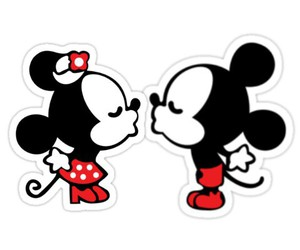 chic, couple, and mickeymouse image