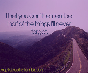 remember, love, and forget image