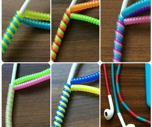 diy, headphones, and earphones image