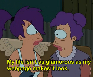 futurama, quotes, and cartoon image