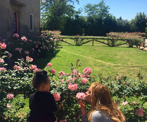 beyoncé, flowers, and blue ivy image