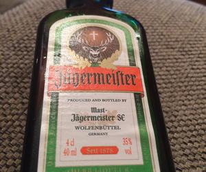 alcohol, germany, and jagermeister image