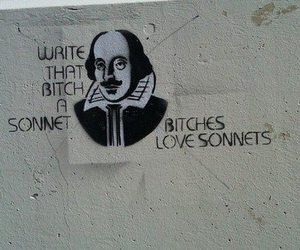 shakespeare, sonnet, and bitch image