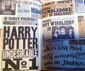 harry potter, keri smith, and wreck this journal image