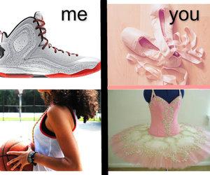 ballet, me, and Basketball image