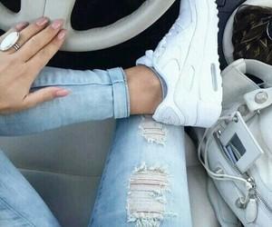 fashion, nike, and car image