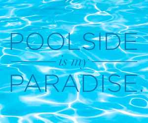 paradise, pool, and blue image