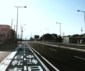 background, japanese, and road image