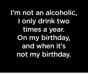 drink, alcoholic, and birthday image