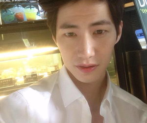 korean boy, selfie, and song jae rim image