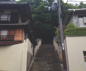 japan, japanese, and stairs image