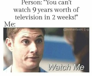 funny pics, spn, and supernatural image