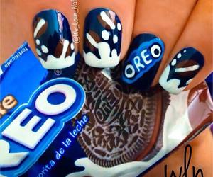 oreo, Cookies, and nails image