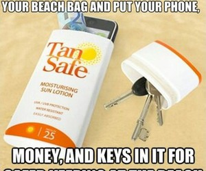 beach, diy, and key image