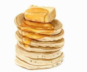 illustration and pancakes image
