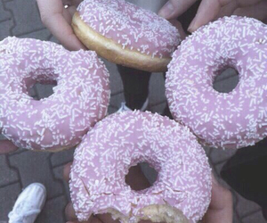 donuts, food, and grunge image