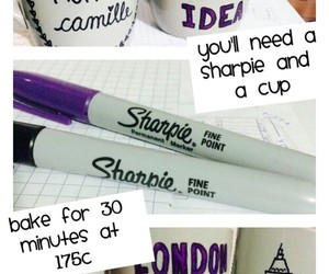 tutorial, cup, and diy image