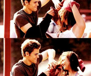 tvd, stelena, and the vampire diaries image