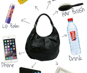 bag, beauty, and drink image