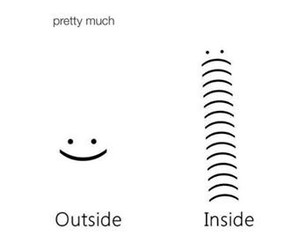 happy, inside, and outside image