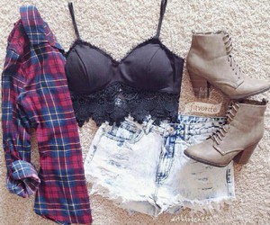 fashion, outfits, and grunge image