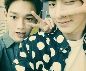attractive, Chen, and exo image