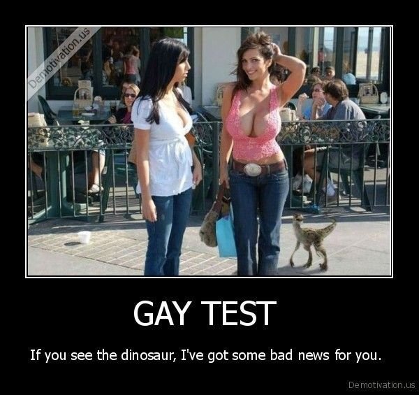 Gay test with images