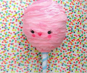 sweet, cotton candy, and pink image