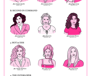 girl, mean girls, and pink image