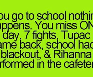 haha, rihanna, and school image