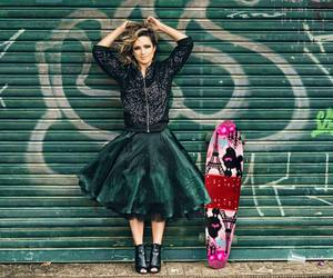 street, skate, and girl skate image