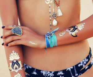 accessories, boho, and fashion image