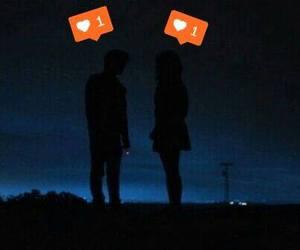 couple, giddylizer, and heart image