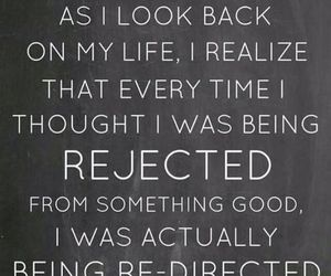 quotes, life, and rejected image