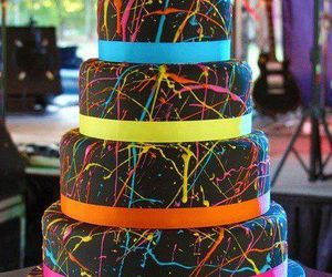 cake, food, and colorful image