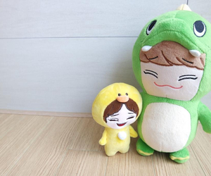 adorable, Chen, and dino image