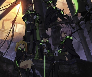 owari no seraph, anime, and shinoa image