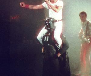 Queen, Freddie Mercury, and star wars image