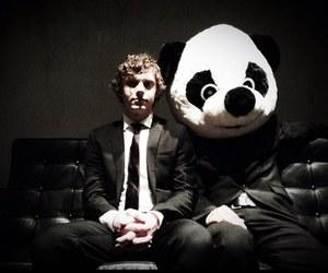 evan peters, panda, and ahs image
