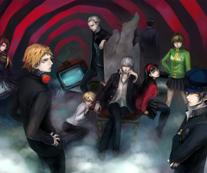 anime and persona 4 image